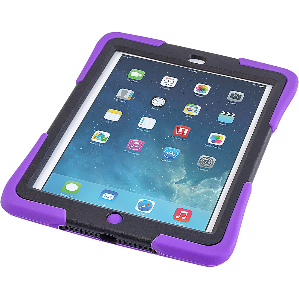 Devicewear Caseiopeia Keepsafe Strap for iPad Air Purple Devicewear Electronic Cases