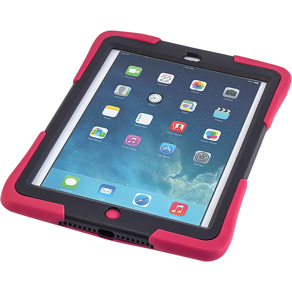 Devicewear Caseiopeia Keepsafe Strap for iPad Air Red Devicewear Electronic Cases