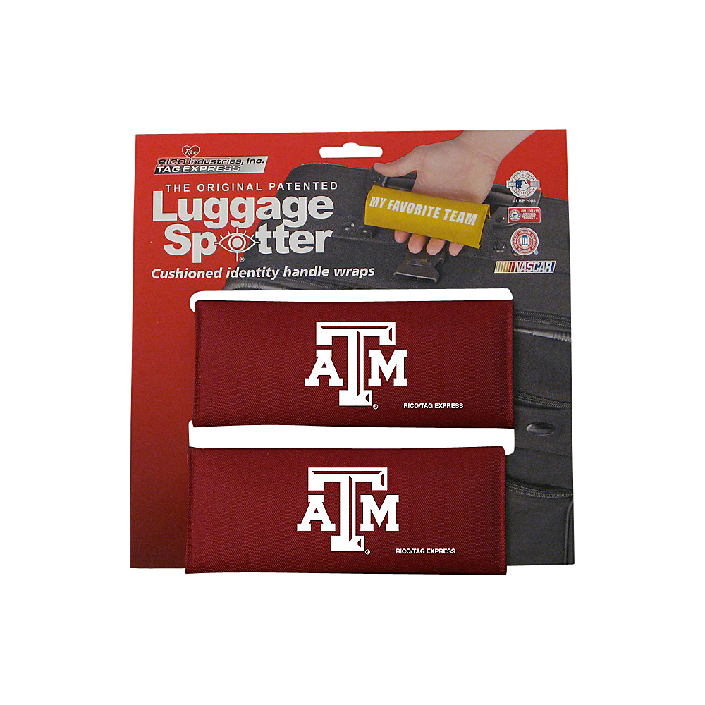 Luggage Spotters Texas A M Aggies Luggage Spotter Red Luggage Spotters Luggage Accessories