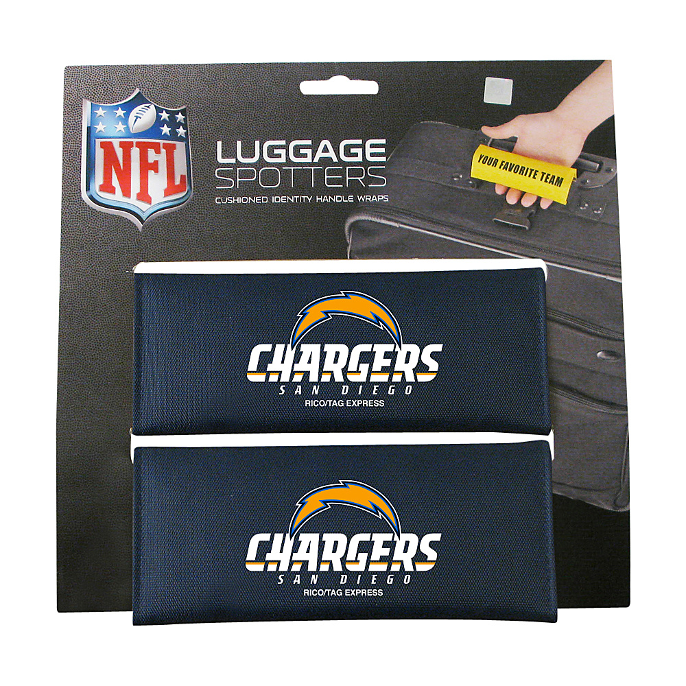 Luggage Spotters NFL San Diego Chargers Luggage Spotter Blue Luggage Spotters Luggage Accessories