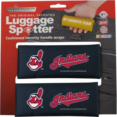 Luggage Spotters Luggage Spotters MLB Cleveland Indians Luggage Spotter Blue - Luggage Spotters Luggage Accessories