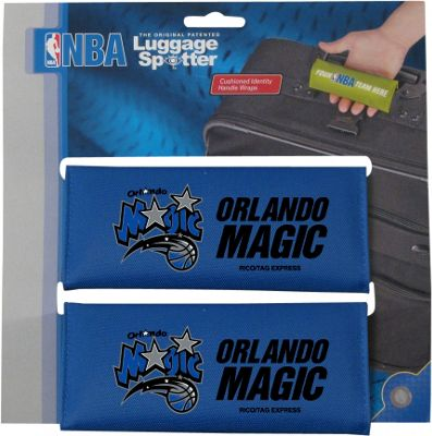 Luggage Spotters NBA Orlando Magic Luggage Spotters Blue - Luggage Spotters Luggage Accessories