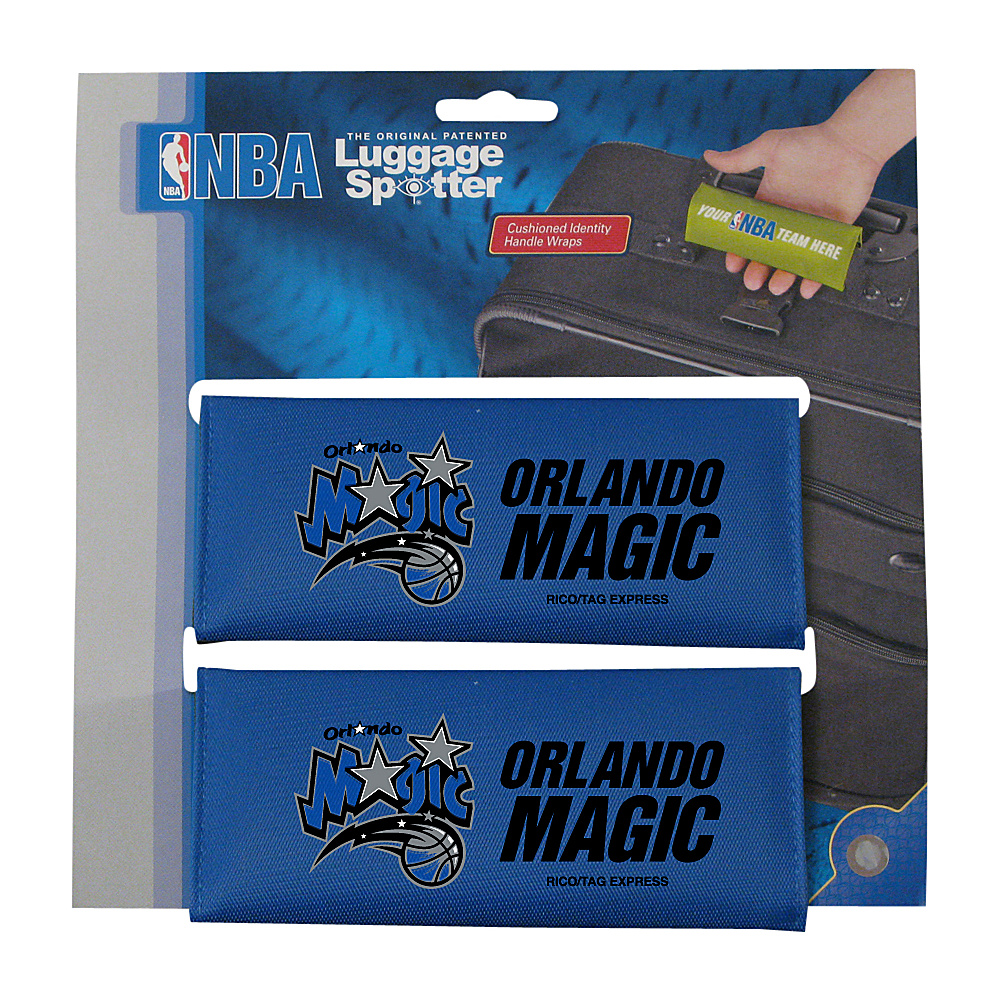 Luggage Spotters NBA Orlando Magic Luggage Spotters Blue Luggage Spotters Luggage Accessories