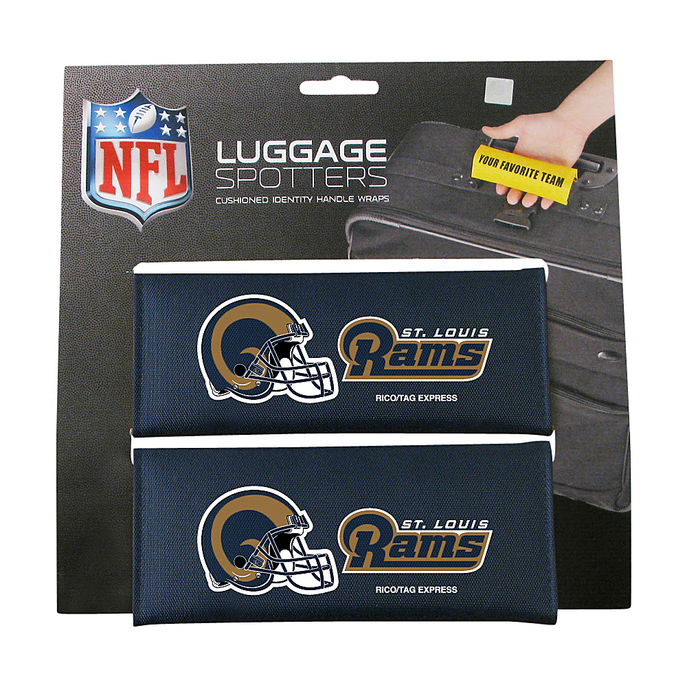 Luggage Spotters NFL St. Louis Rams Luggage Spotter Blue Luggage Spotters Luggage Accessories