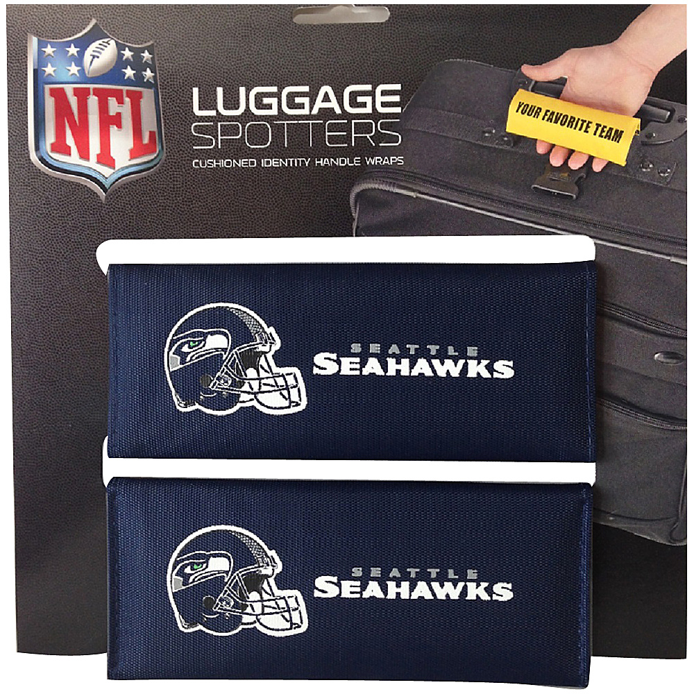 Luggage Spotters NFL Seattle Seahawks Luggage Spotter Blue Luggage Spotters Luggage Accessories