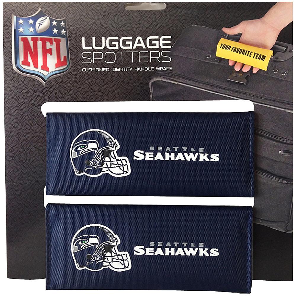 Luggage Spotters NFL Seattle Seahawks Luggage Spotter Blue Luggage Spotters Luggage Accessories