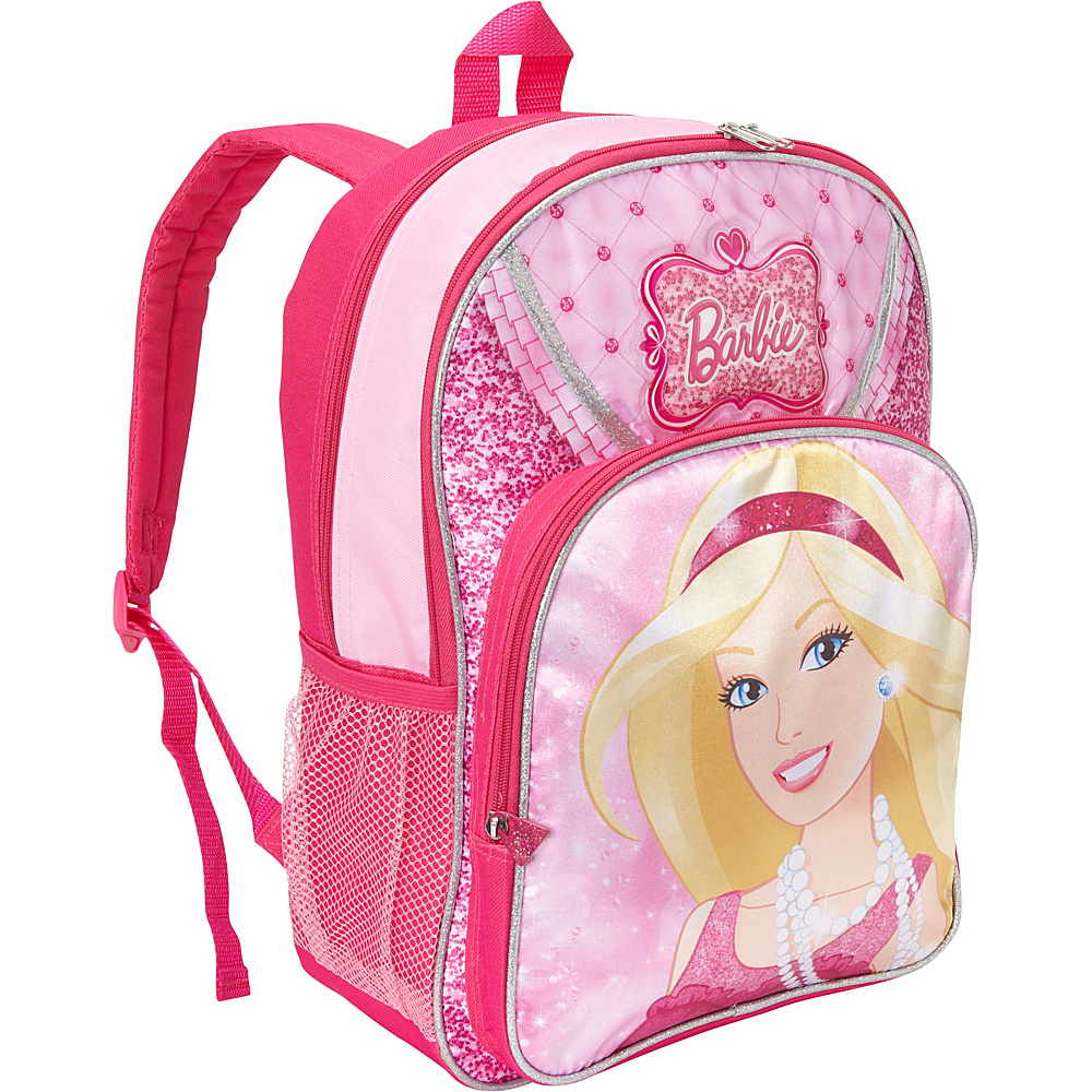 "Accessory Innovations Barbie 16"" Backpack Pink - Accessory Innovations Everyday Backpacks"