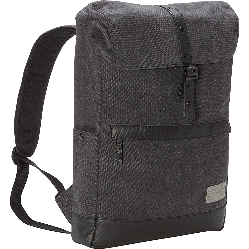 HEX Alliance Laptop Backpack Charcoal Canvas HEX Business Laptop Backpacks