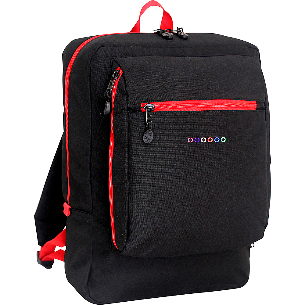 J World New York Art School Backpack Black J World New York Everyday Backpacks