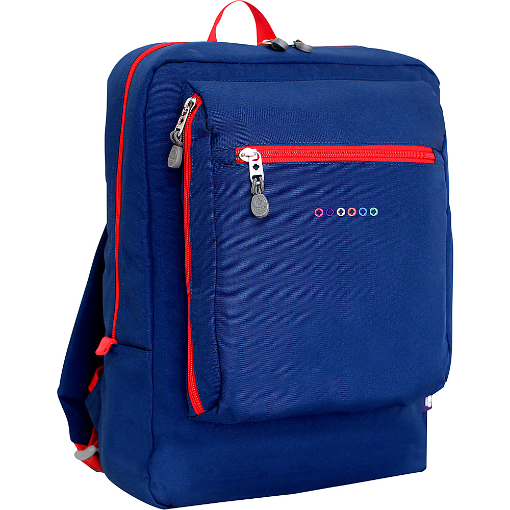 J World New York Art School Backpack Navy J World New York Everyday Backpacks