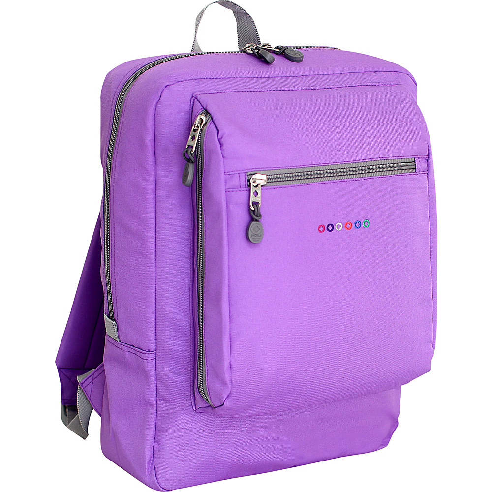 J World New York Art School Backpack Orchid J World New York Everyday Backpacks