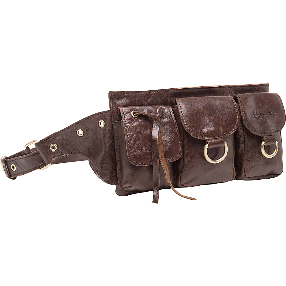 Vicenzo Leather Adonis Leather Waistpack Brown Small Vicenzo Leather Waist Packs