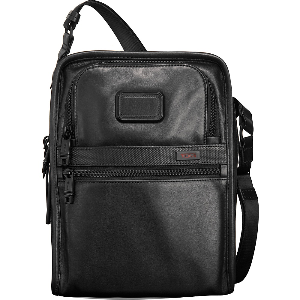 Tumi Alpha 2 Organizer Travel Leather Tote Black Tumi Other Men s Bags