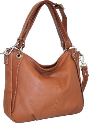 Nino Bossi Satchel of Seville Cognac - Nino Bossi Leather Handbags