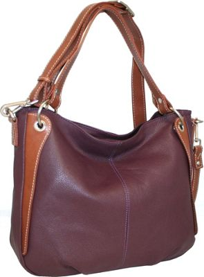 Nino Bossi Satchel of Seville Shiraz - Nino Bossi Leather Handbags
