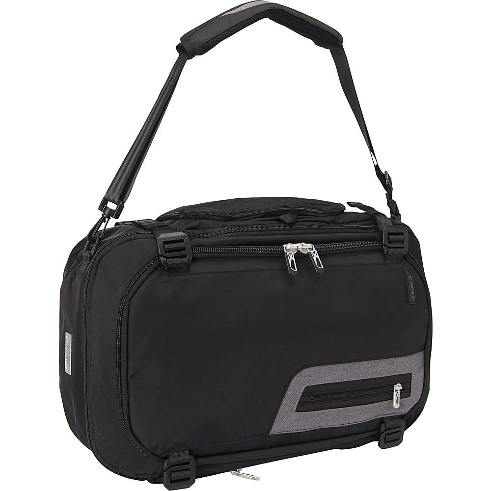 Briggs Riley BRX Exchange Medium Duffle Backpack Black Briggs Riley Travel Backpacks