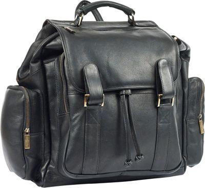 Robert Myers Over-sized Backpack Black - Robert Myers Business & Laptop Backpacks