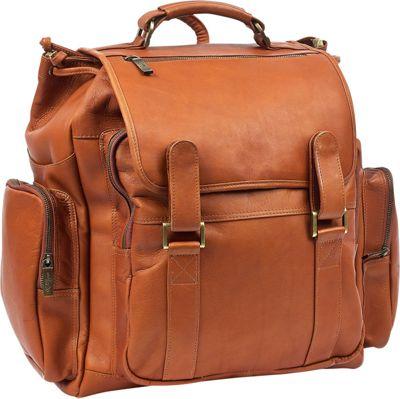 Robert Myers Over-sized Backpack Tan - Robert Myers Business & Laptop Backpacks