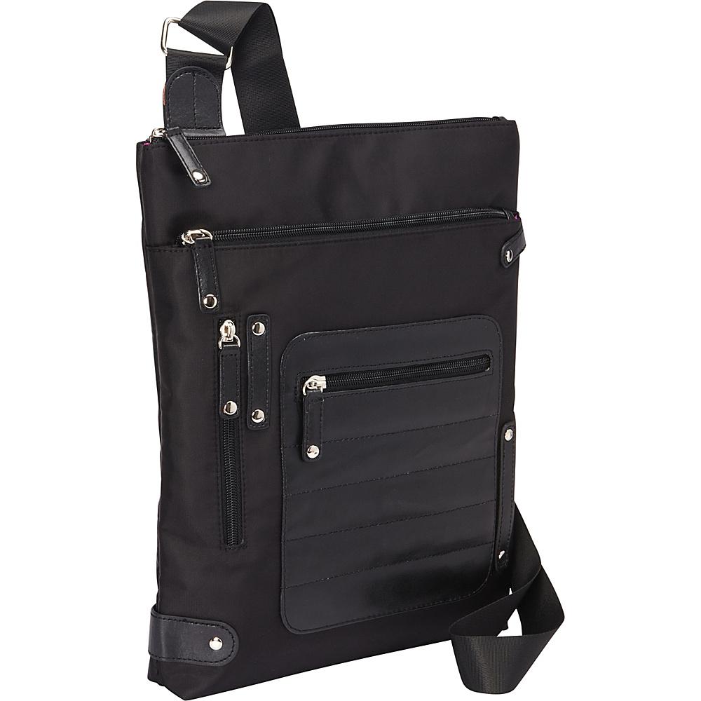 Women In Business Phoenix City Slim Shoulder Bag 14 Black Women In Business Fabric Handbags