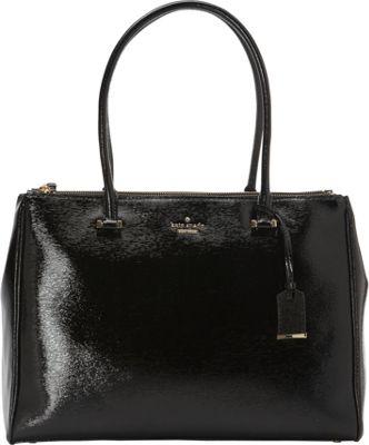 kate spade new york Cedar Street Patent Reena Shoulder Bag Black - kate spade new york Designer Handbags
