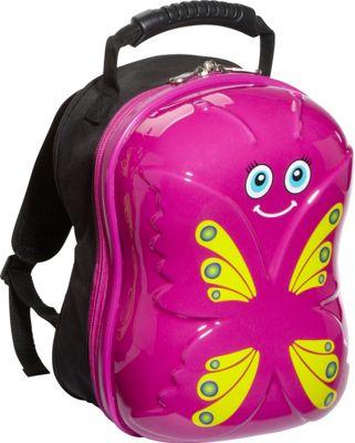 TrendyKid Bella Butterfly Backpack Pink/Yellow - TrendyKid Everyday Backpacks