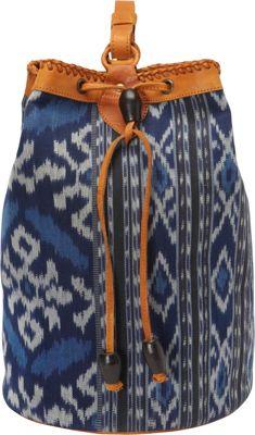 TLC&you Mantra Tote Blue - TLC&you Fabric Handbags