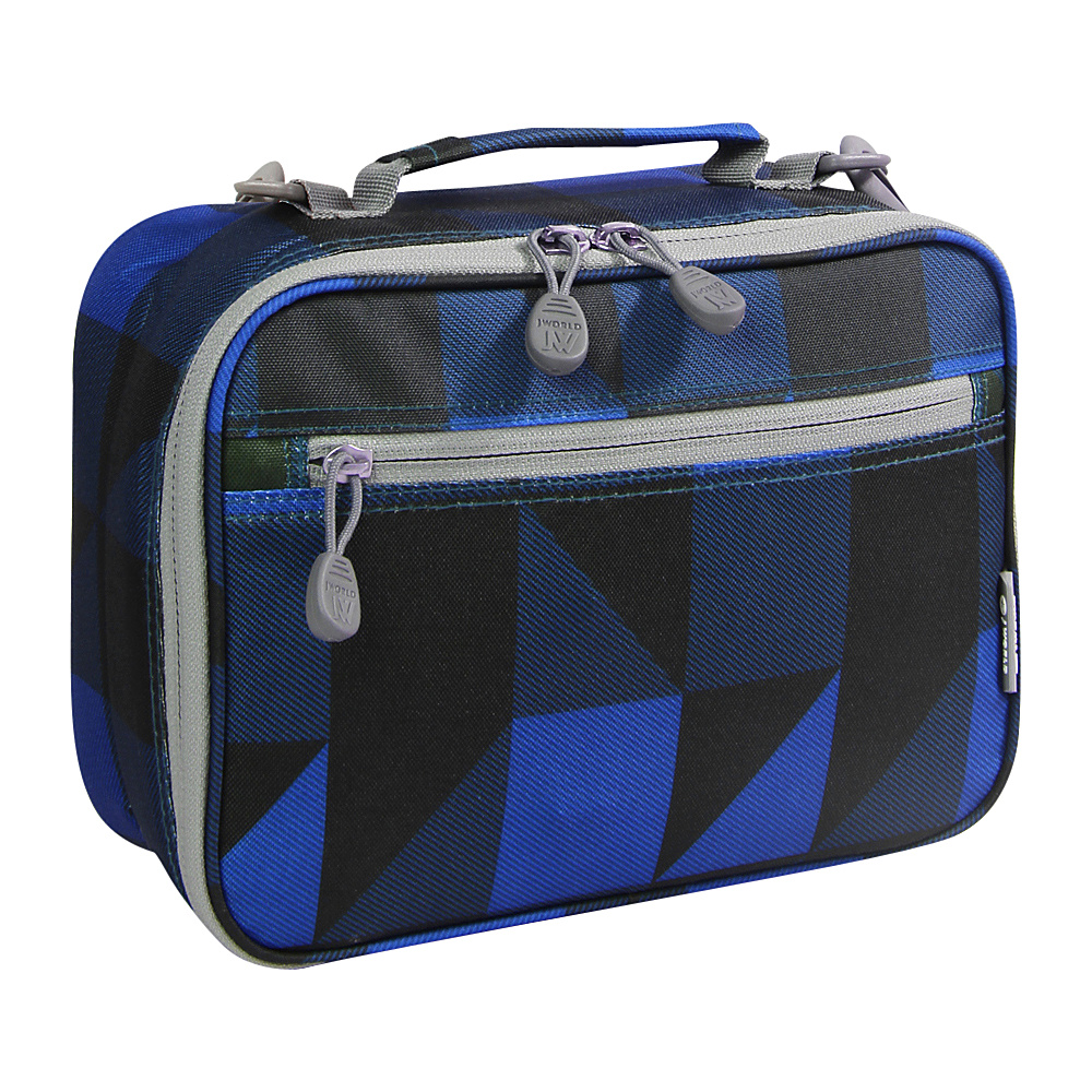 J World New York Cody Lunch Bag Block Navy - J World New York Travel Coolers - Travel Accessories, Travel Coolers
