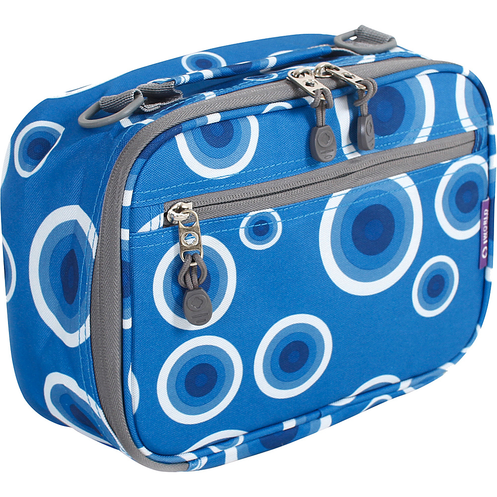 J World New York Cody Lunch Bag Blue Target - J World New York Travel Coolers - Travel Accessories, Travel Coolers