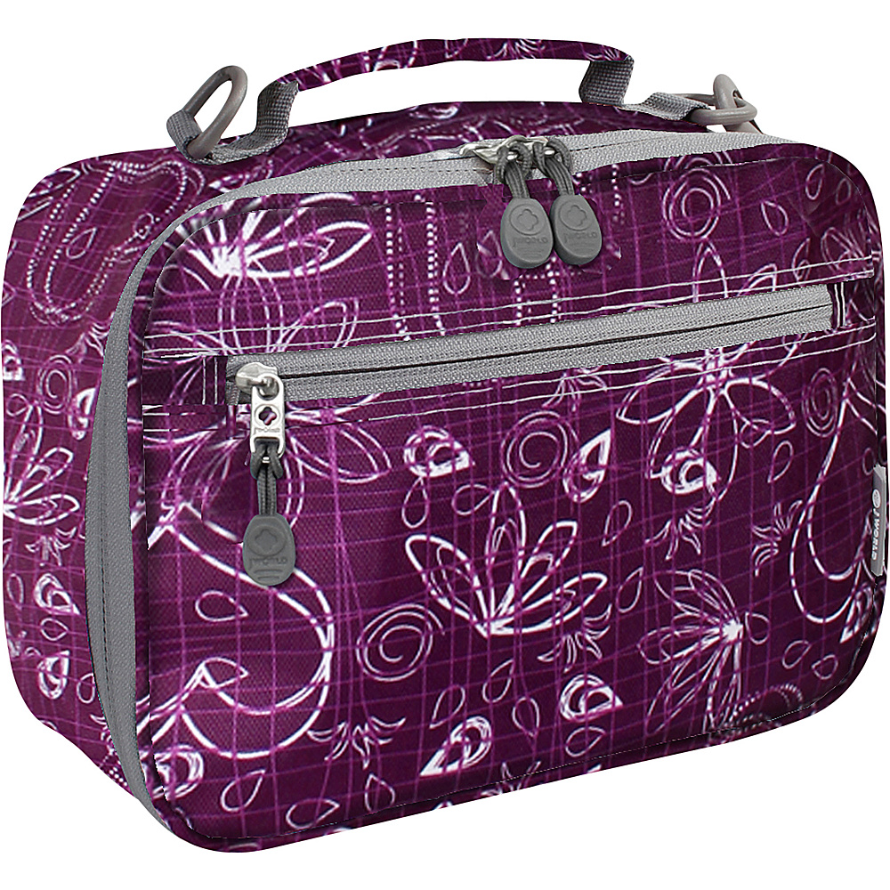 J World New York Cody Lunch Bag Love Purple - J World New York Travel Coolers - Travel Accessories, Travel Coolers