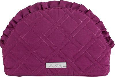 Vera Bradley Ruffle Cosmetic Plum - Vera Bradley Ladies Cosmetic Bags