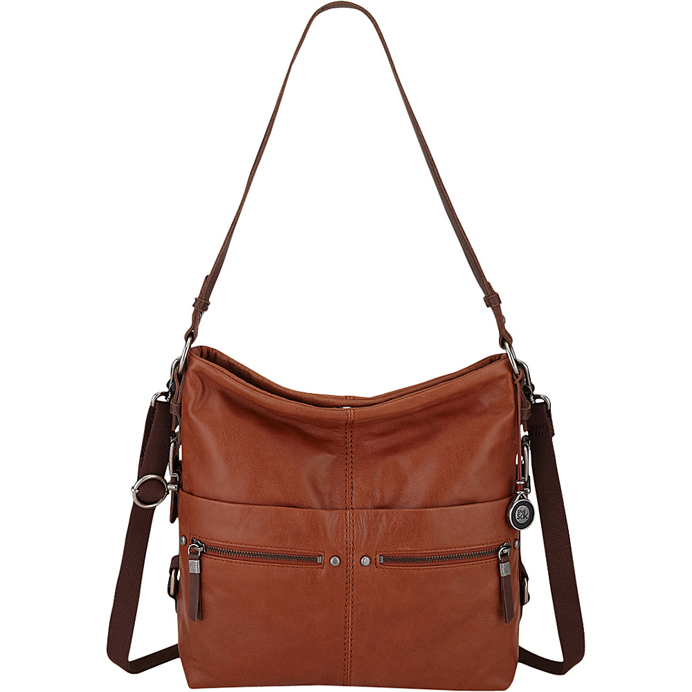 The Sak Sanibel Bucket Tobacco The Sak Leather Handbags