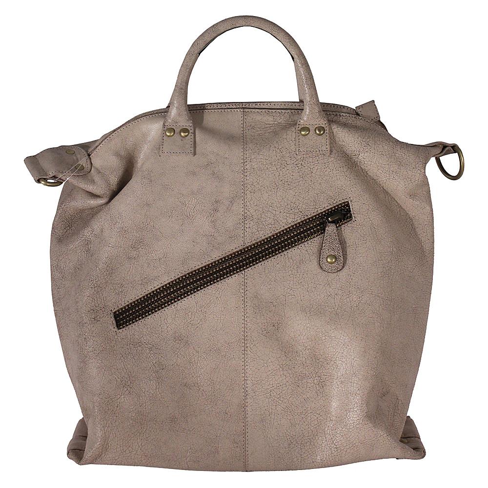 Latico Leathers Michaela Satchel Crackle White - Latico Leathers Leather Handbags - Handbags, Leather Handbags