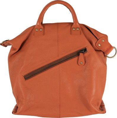 Latico Leathers Michaela Satchel Orange - Latico Leathers Leather Handbags