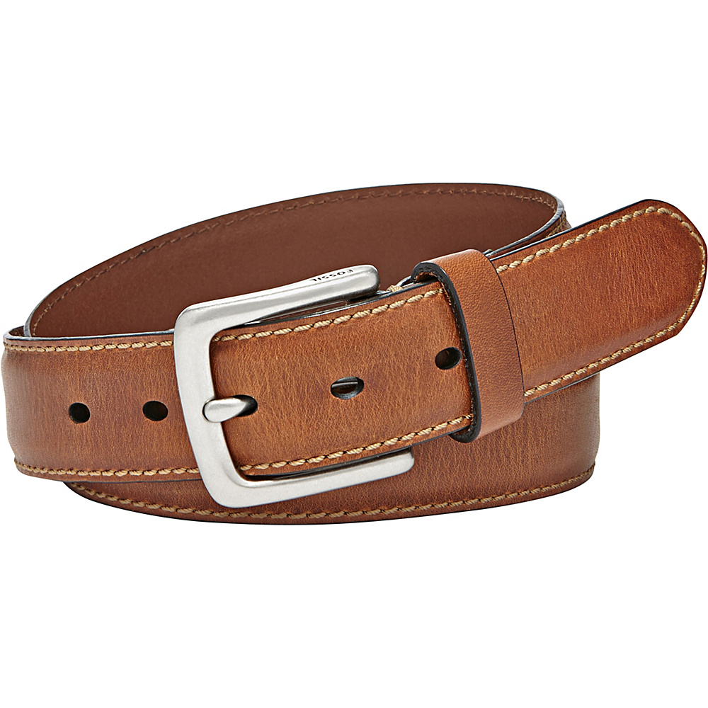 Fossil Aiden Belt 44 - Brown - Fossil Other Fashion Accessories - Fashion Accessories, Other Fashion Accessories