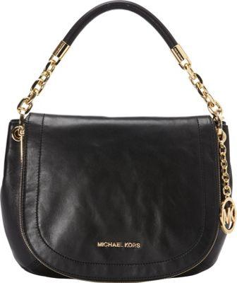 MICHAEL Michael Kors Stanthorpe Medium Convertible Shoulder Black - MICHAEL Michael Kors Designer Handbags