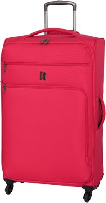 it luggage MegaLite Luggage Collection 31.3 inch Spinner- eBags Exclusive Fiery Red - it luggage Softside Checked