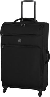 it luggage MegaLite Luggage Collection 31.3 inch Spinner- eBags Exclusive Black - it luggage Softside Checked