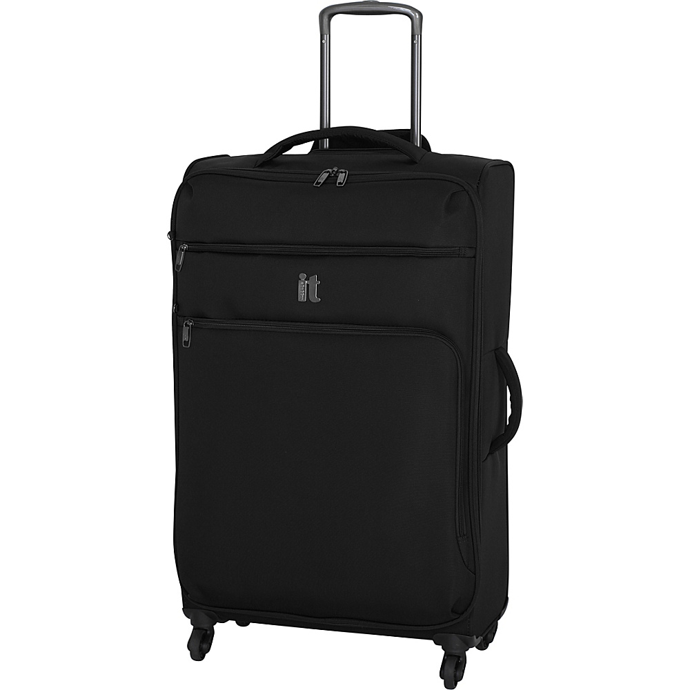 it luggage MegaLite Luggage Collection 31.3 Spinner eBags Exclusive Black it luggage Softside Checked