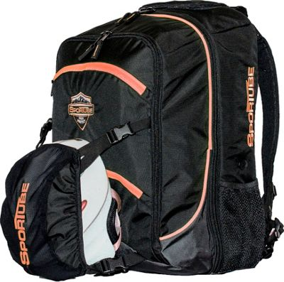 Sportube Overheader Gear and Boot Backpack Orange/Black - Sportube Ski and Snowboard Bags