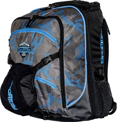 Sportube Overheader Gear and Boot Backpack Camo - Sportube Ski and Snowboard Bags