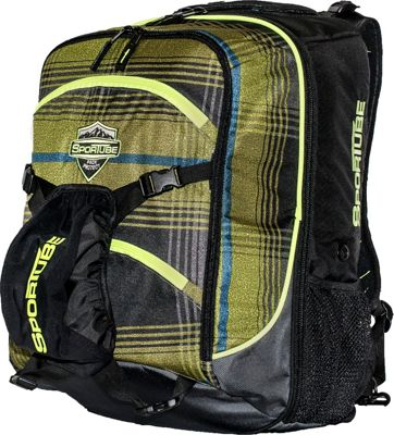 Sportube Overheader Gear and Boot Backpack Plaid - Sportube Ski and Snowboard Bags