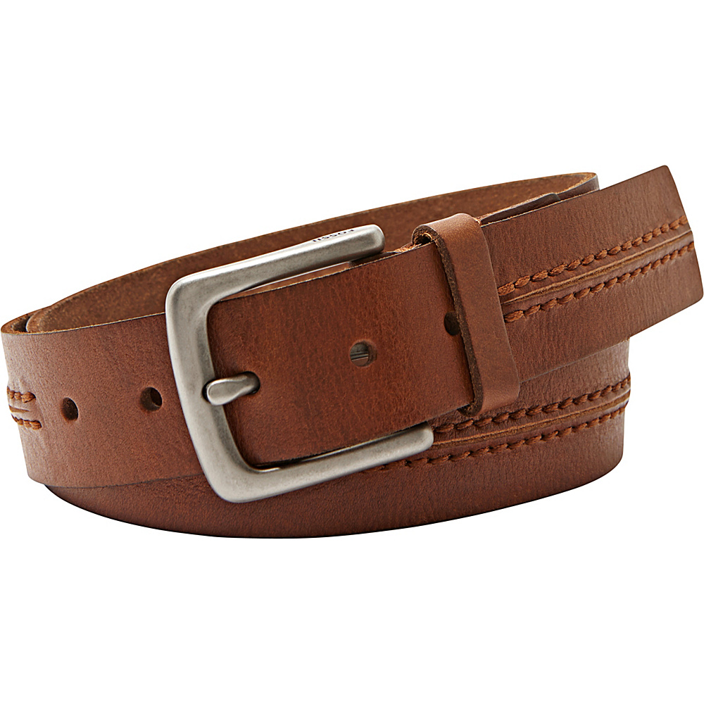 Fossil Theo Belt 36 - Tan - Fossil Other Fashion Accessories - Fashion Accessories, Other Fashion Accessories