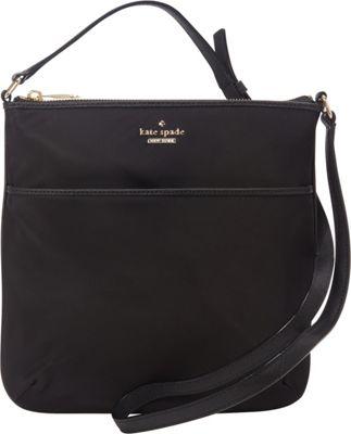kate spade new york Classic Nylon Joni Crossbody Black - kate spade new york Designer Handbags