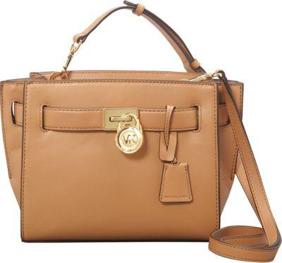 MICHAEL Michael Kors Hamilton Traveler Messenger Suntan - MICHAEL Michael Kors Designer Handbags