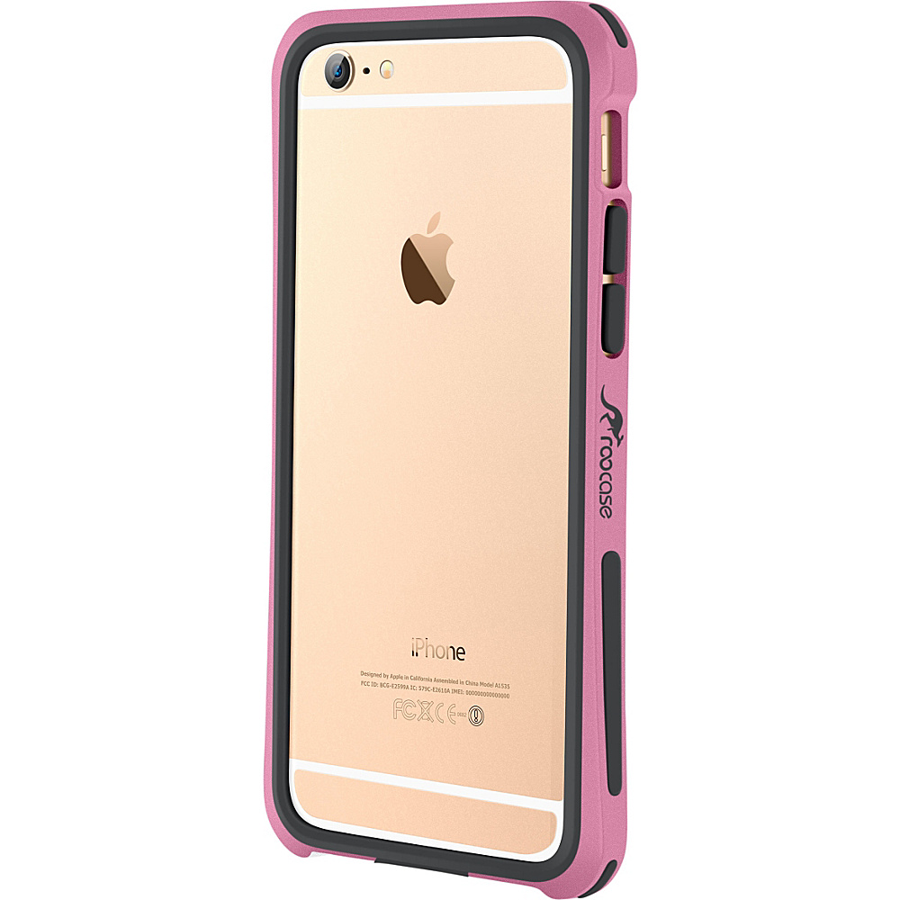 rooCASE Ultra Slim Fit Linear Bumper Case Cover for iPhone 6 6s 4.7 Pink rooCASE Electronic Cases