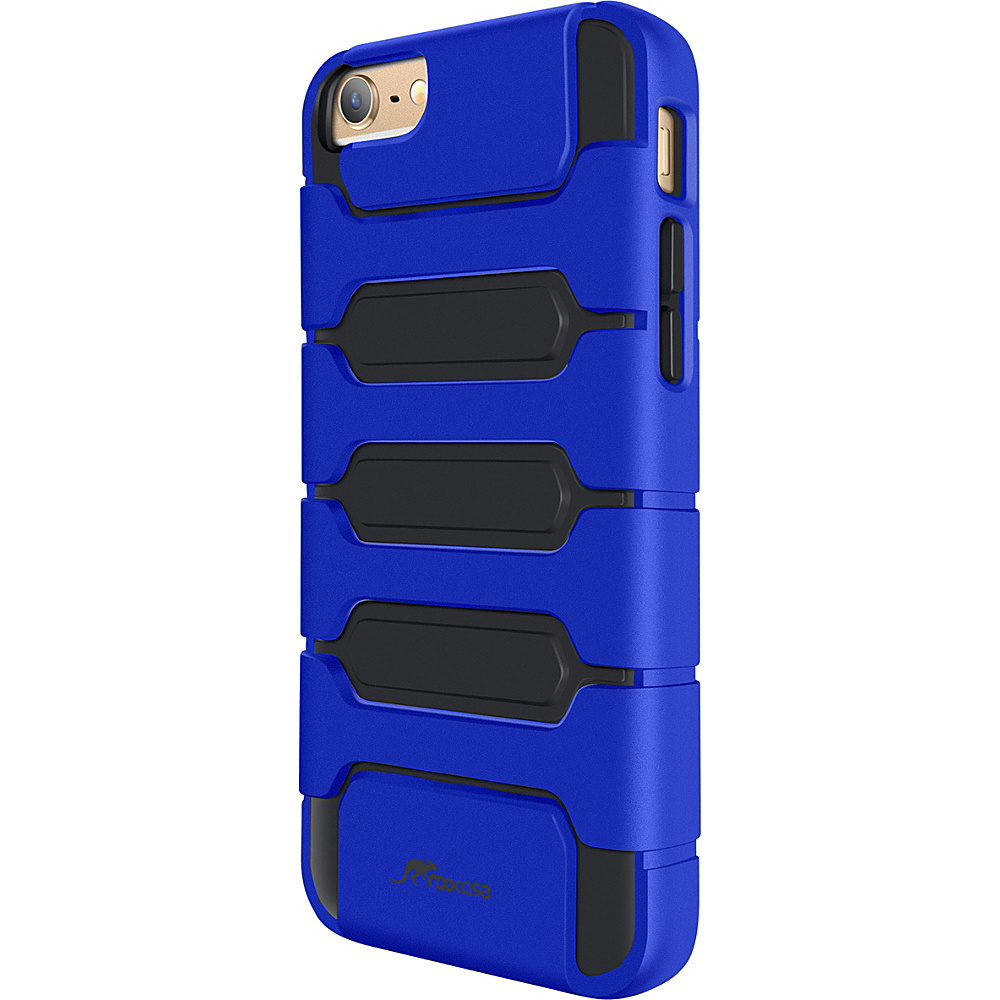 rooCASE Slim Fit XENO Armor Hybrid TPU PC Case Cover for iPhone 6 6s 4.7 Dark Blue rooCASE Electronic Cases