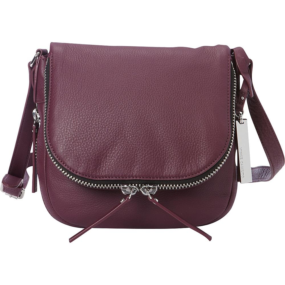Vince Camuto Baily Crossbody Berry Wine Vince Camuto Designer Handbags