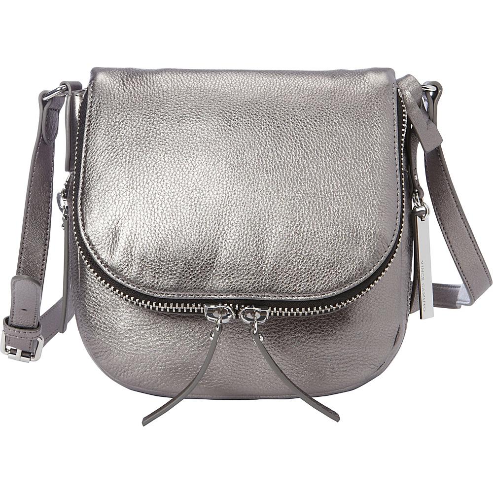 Vince Camuto Baily Crossbody Gunmental Vince Camuto Designer Handbags