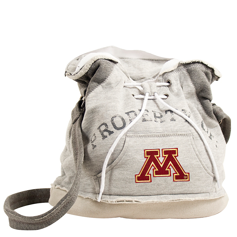Littlearth Hoodie Shoulder Bag Big Ten Teams Minnesota U of Littlearth Fabric Handbags