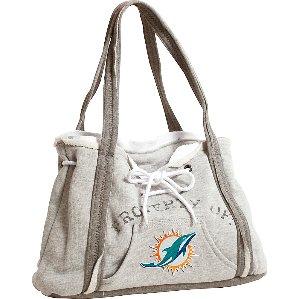 Littlearth Hoodie Purse - NFL Teams Miami Dolphins - Littlearth Fabric Handbags - Handbags, Fabric Handbags